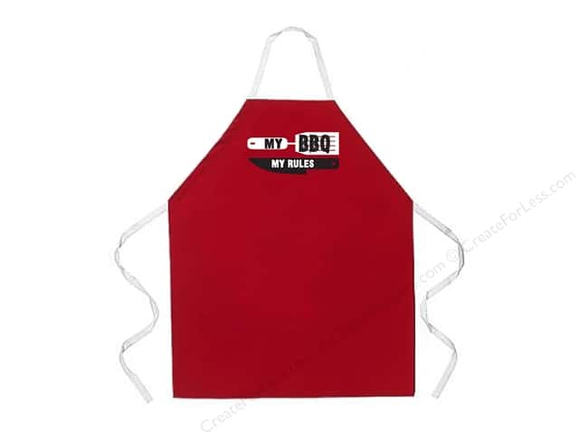 Attitude Aprons 27 in. x 34 in.  My BBQ My Rules