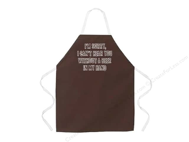 Attitude Aprons 27 in. x 34 in.  I Can't Hear You