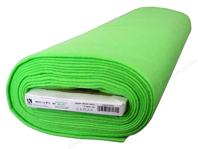 Kunin Rainbow Classic Felt 72 in. x 10 yd Bolt Neon Green (10 yards)