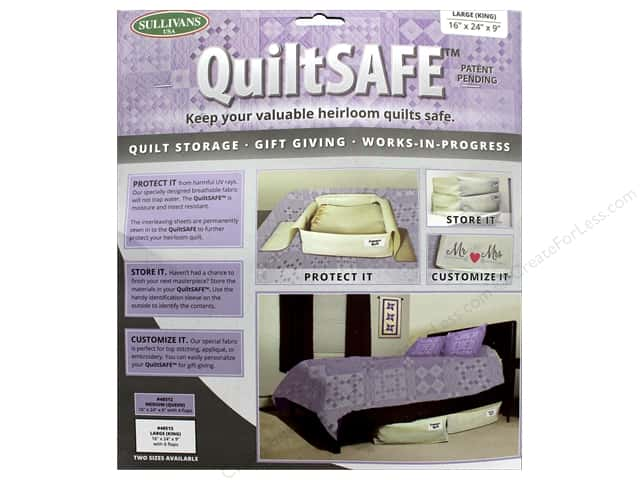 Sullivans QuiltSafe Large 24 in. x 9 in. x 16 in.