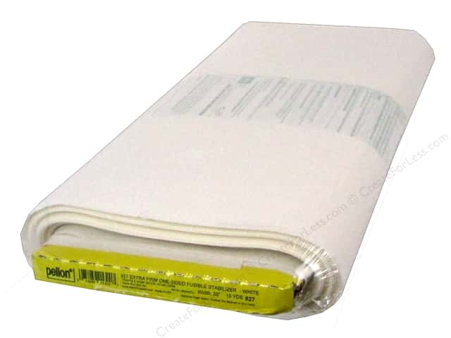 Pellon Stabilizer Extra Firm Fusible 20 in. x 15 yd White