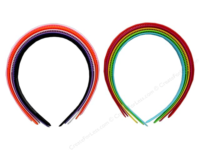 PA Essentials Headband 12 mm 5 pc Assorted Colors