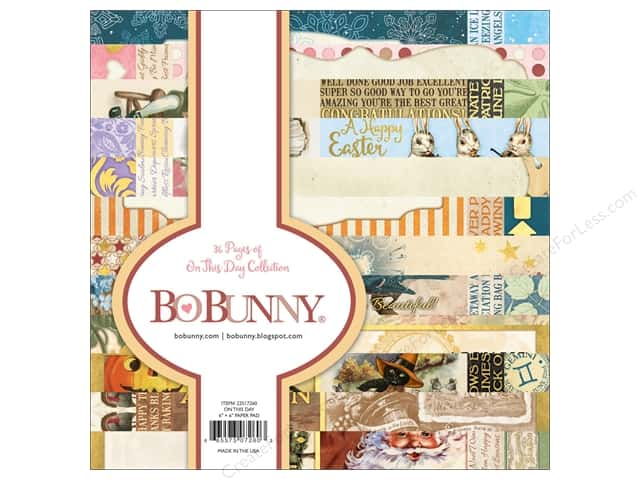 Bo Bunny On This Day Paper Pad 6 in. x 6 in.