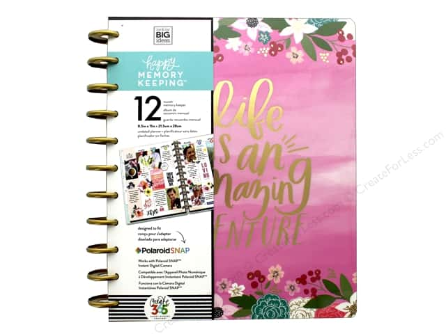 Me & My Big Ideas Create 365 The Happy Planner - Big Life Is An Amazing Adventure