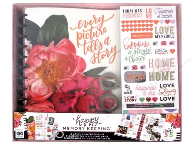 Me&My Big Ideas Create 365 Happy Memory Keeping Planner Box Kit Big Every Picture Tells A Story