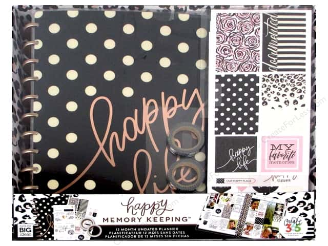 Me & My Big Ideas Create 365 Happy Planner 12 Month Box Kit - Big Happy Life