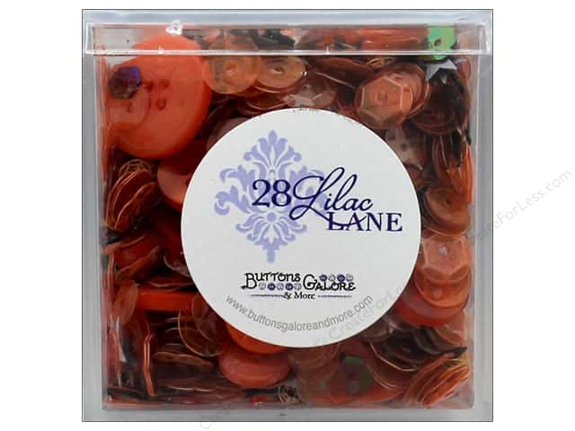 Buttons Galore 28 Lilac Lane Shaker Mix Witches Brew