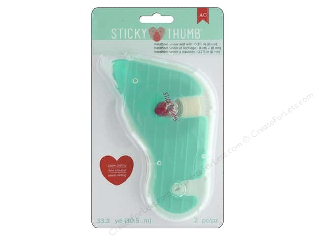 American Crafts Sticky Thumb Marathon Tape Runner