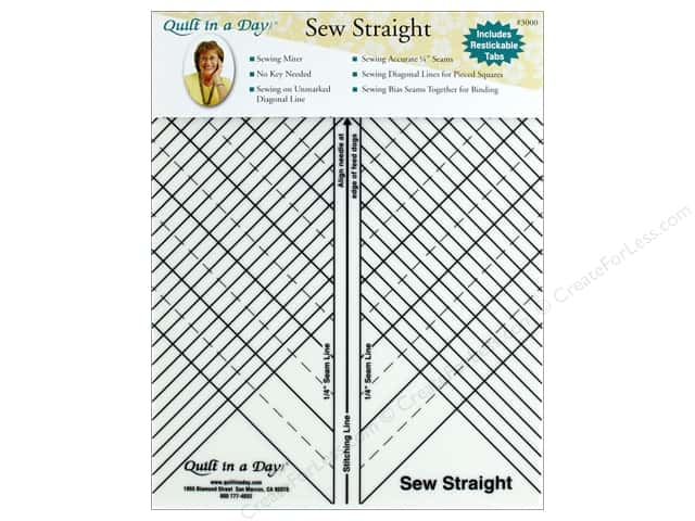 Quilt In A Day Ruler Sew Straight