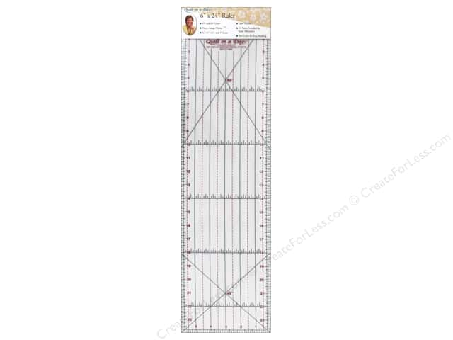Quilt In A Day Ruler 6 in. x 24 in.