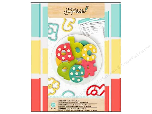 American Crafts Collection Sweet Sugarbelle Cutter Set Alpha