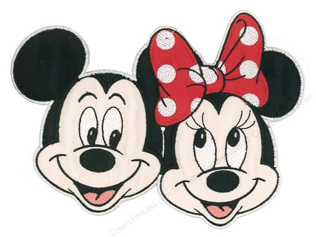Simplicity Applique Disney Extra Large Mickey/Minnie
