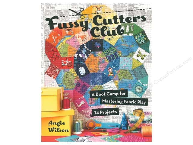 Stash By C&T Fussy Cutters Club Book