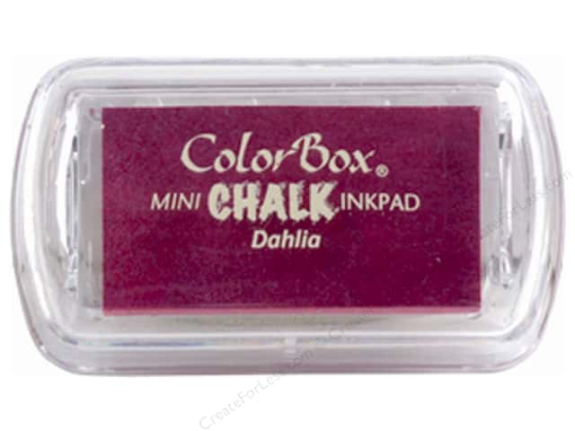 ColorBox Fluid Chalk Ink Pad Mini Dahlia