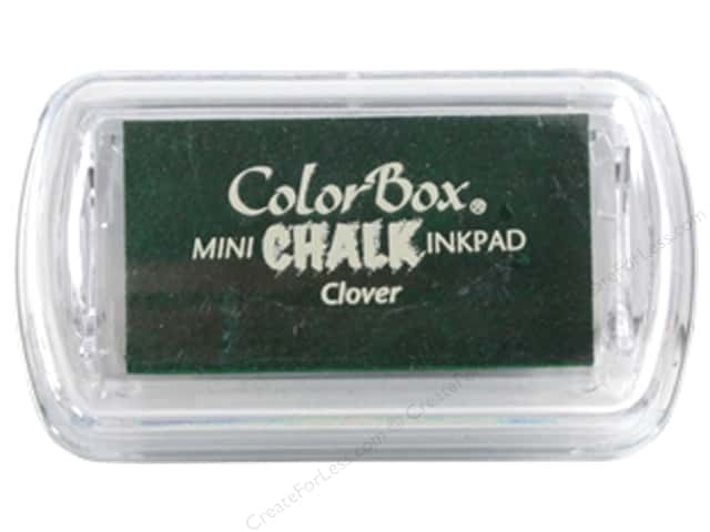 ColorBox Fluid Chalk Ink Pad Mini Clover