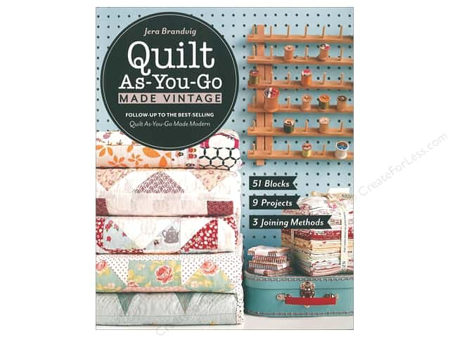 Stash By C&T Quilt As You Go Made Vintage Book