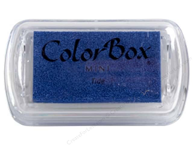 ColorBox Pigment Ink Pad Mini Tide