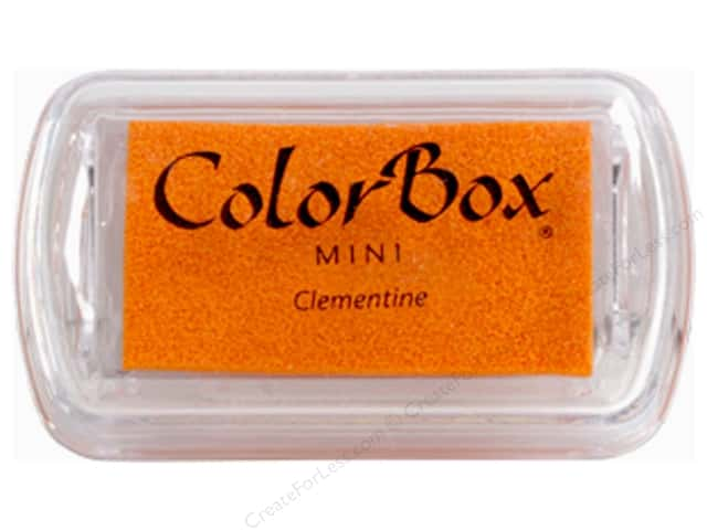 ColorBox Pigment Ink Pad Mini Clementine