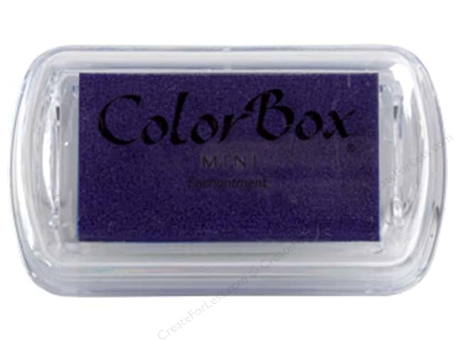 ColorBox Pigment Ink Pad Mini Enchanted