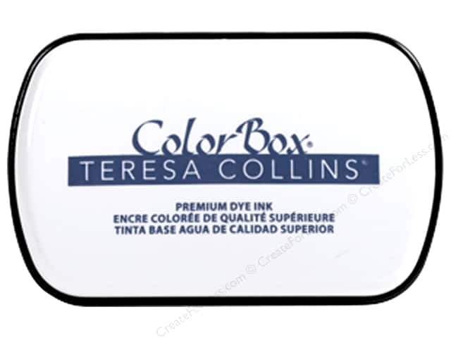 ColorBox Premium Dye Ink Pad Full Teresa Collins Beckett Blue