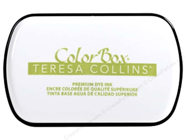 ColorBox Premium Dye Ink Pad Full Teresa Collins Luxuriant Green