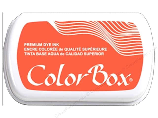 ColorBox Premium Dye Ink Pad Full Size Coral