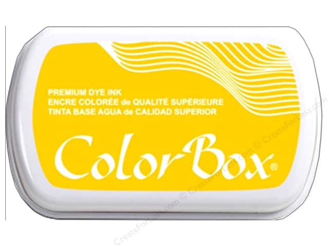 ColorBox Premium Dye Ink Pad Full Size Dandelion