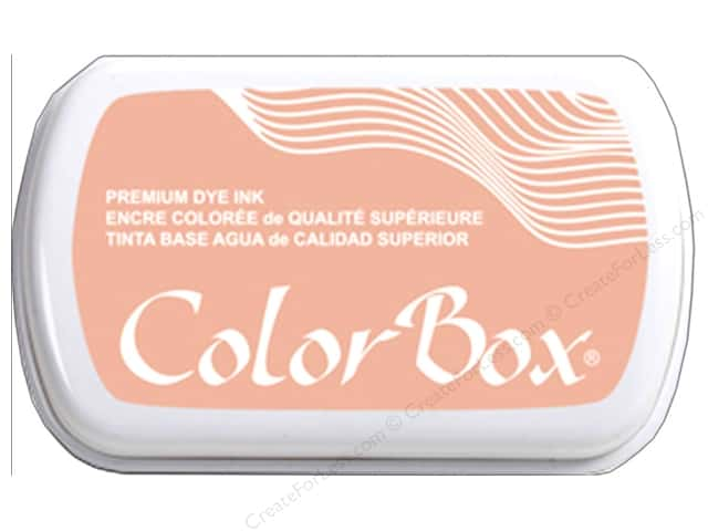 ColorBox Premium Dye Ink Pad Full Size Blush