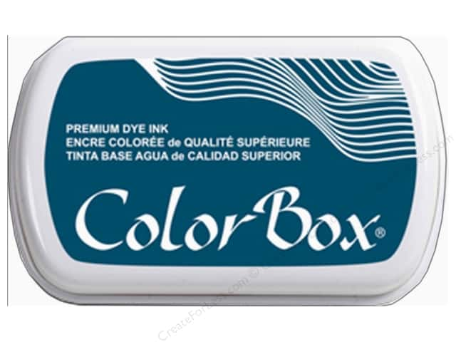 ColorBox Premium Dye Ink Pad Full Size Deep Sea