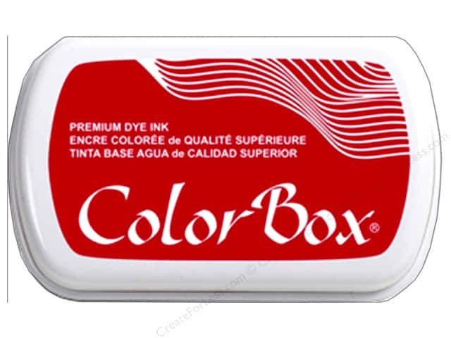 ColorBox Premium Dye Ink Pad Full Size Candy