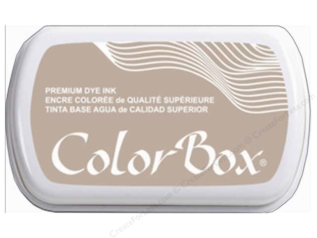 ColorBox Premium Dye Ink Pad Full Size Wheat