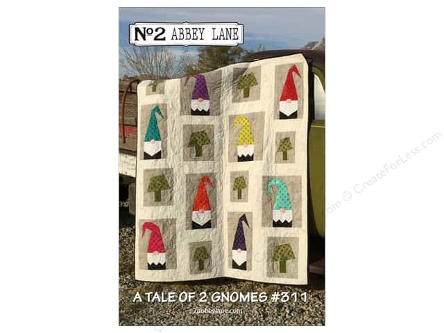Abbey Lane Quilts A Tale of 2 Gnomes Pattern