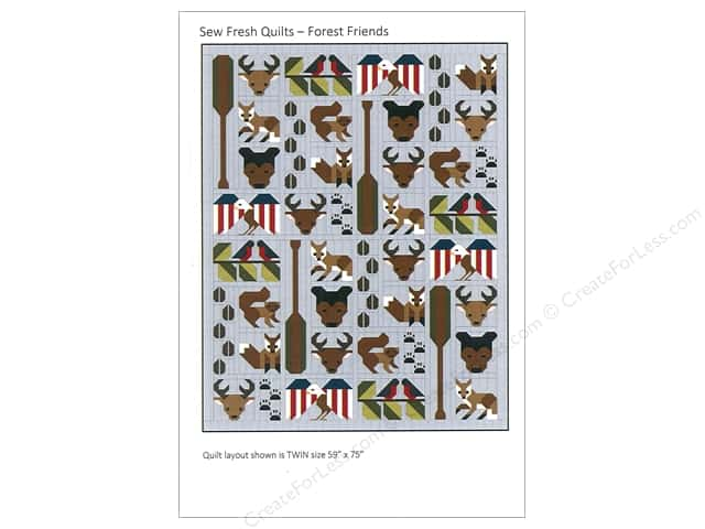 Sew Fresh Quilts Forest Friends Pattern