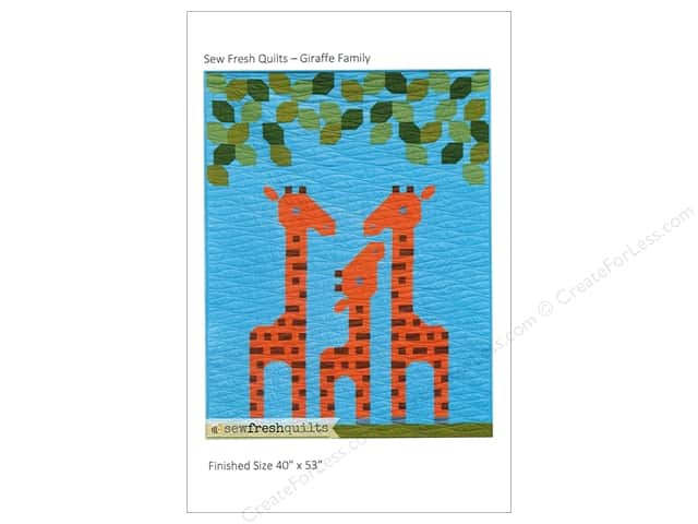 Sew Fresh Quilts Giraffe Family Pattern