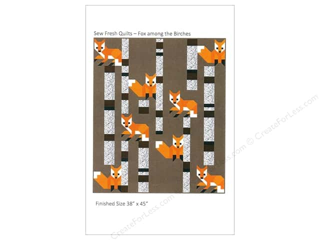 Sew Fresh Quilts Fox Among The Birches Pattern