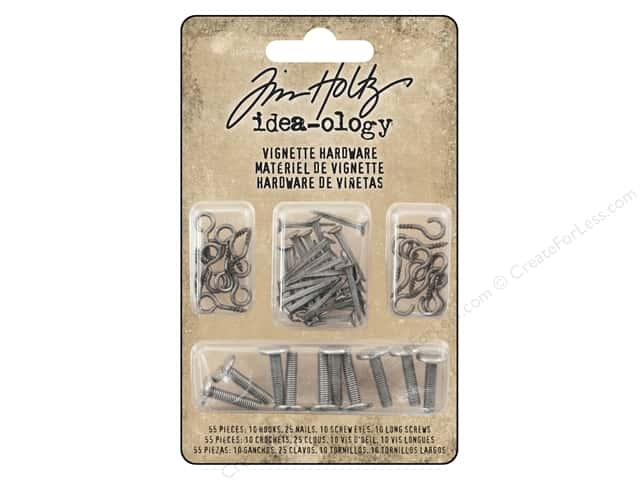 Tim Holtz Idea-ology Christmas Vignette Hardware