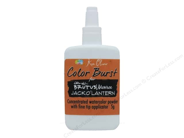 Contact Crafts Ken Oliver Color Burst Brutus/Monroe Jack O Lantern
