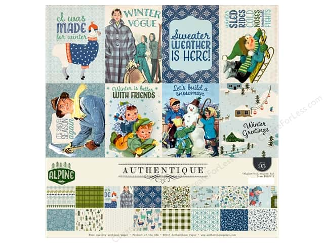 Authentique Collection Alpine Collection Kit