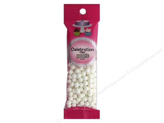 SweetWorks Celebration Pearls 1.75 oz. Shimmer White
