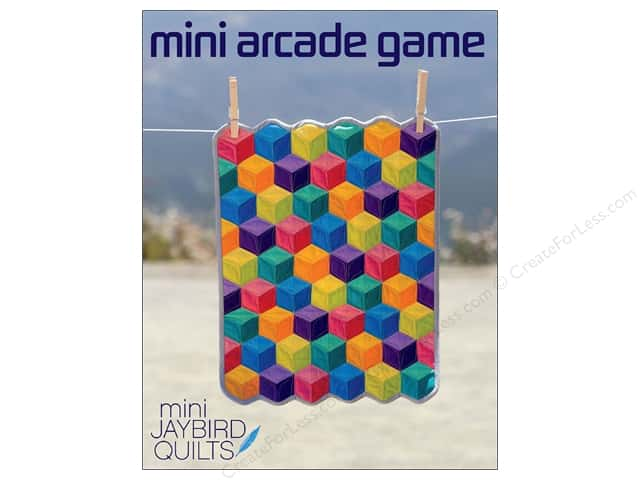 Jaybird Quilts Mini Arcade Game Pattern