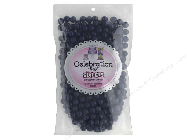 SweetWorks Celebration Sixlets 14 oz. Navy