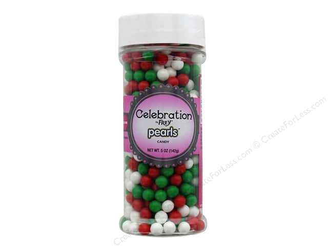 SweetWorks Celebration Pearls 5 oz Mix Christmas