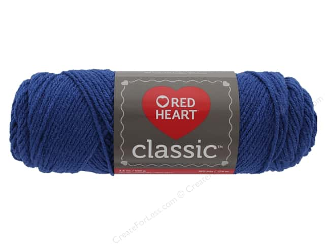Red Heart Classic Yarn 190 yd. #1820 Dark Chambray