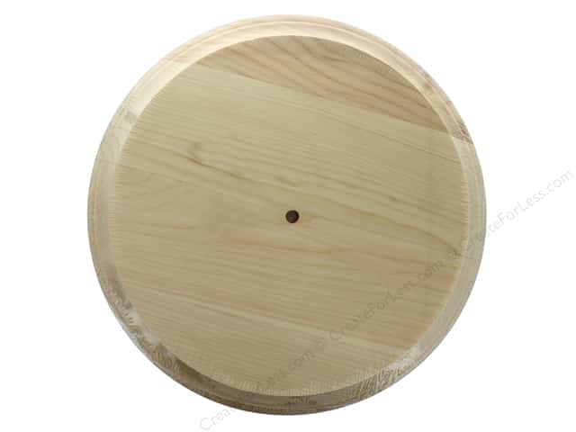 Walnut Hollow Pine Round Clock Large 11 in.