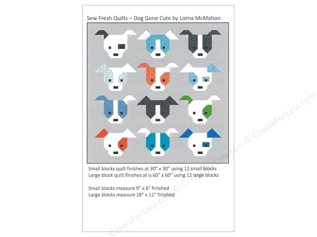 Sew Fresh Quilts Dog Gone Cute Pattern