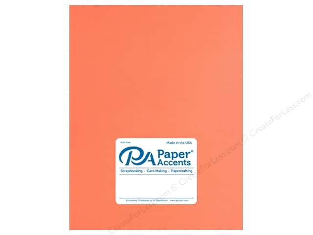 Paper Accents Cardstock 8 1/2 x 11 in. Muslin Sherbet (25 sheets)