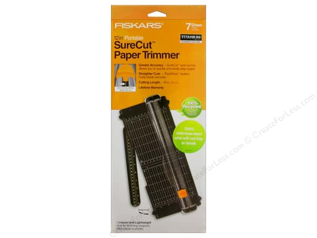 Fiskars Paper Trimmer SureCut 12 in.  Office