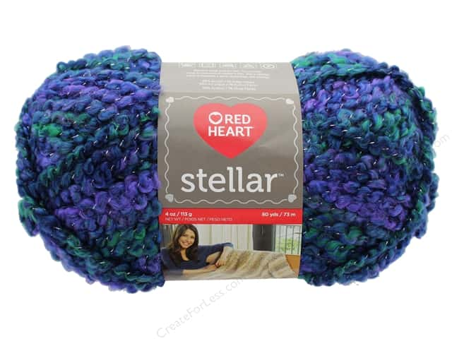 Red Heart Stellar Yarn 80 yd. #9931 Deep Space