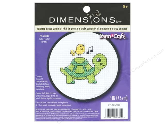 Dimensions Cross Stitch Kit Turtle