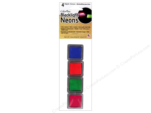 ColorBox Blacklight Neon Cube Set 1